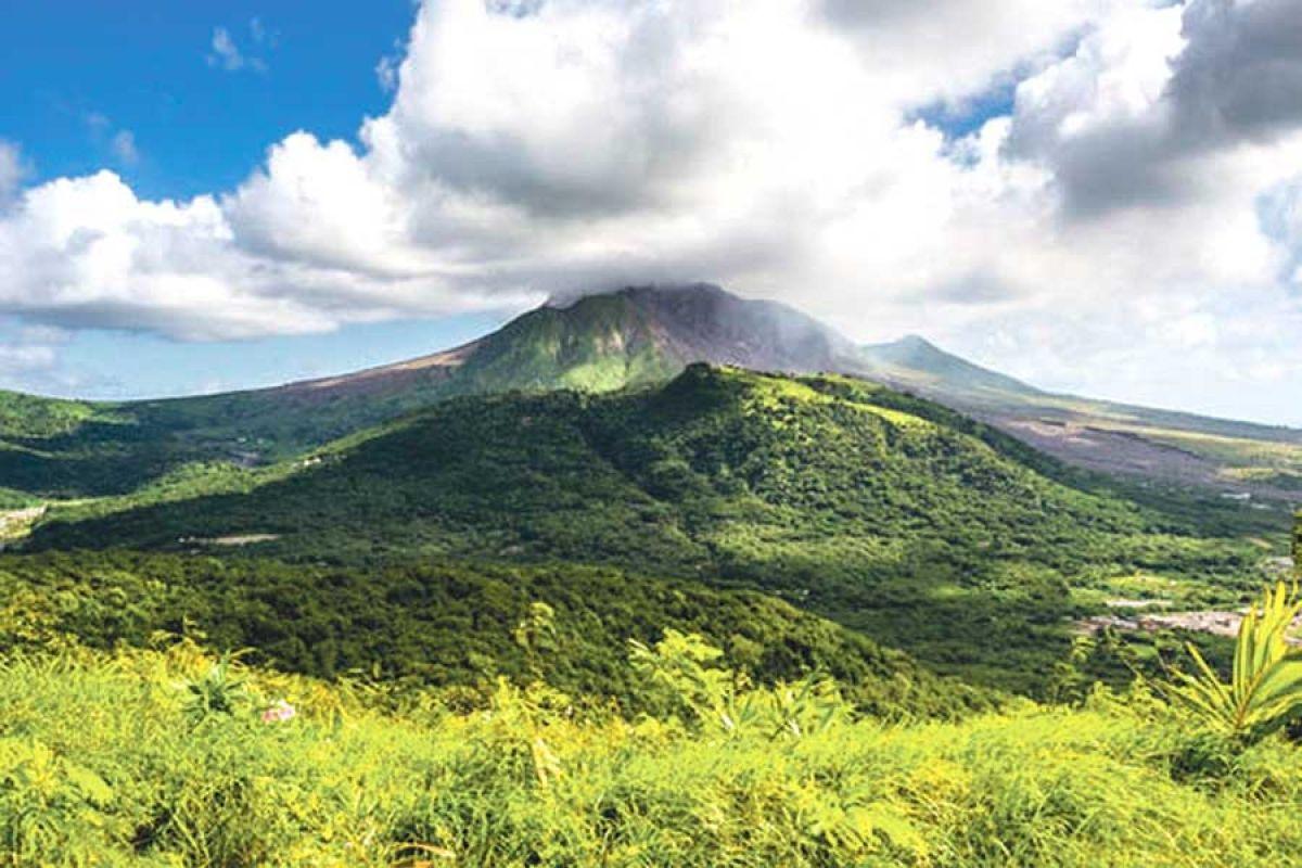 Forte activité volcanique dans les Caraïbes