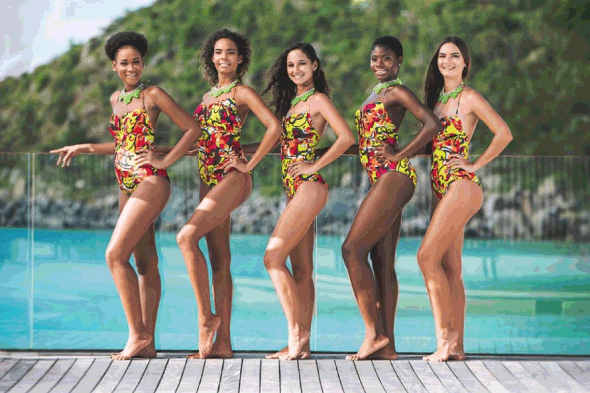 Concours de beauté : Les cinq Miss sont en pleine préparation