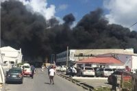 Mardi, deux incendies successifs à Cole Bay