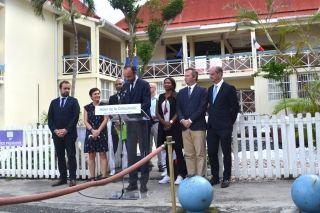 Lors de son discours officiel prononcé devant l'Hôtel de la Collectivité le 6 novembre 2017, le premier ministre Edouard Philippe avait annoncé une enveloppe d'aide de 62.5 M€ pour 2017 et 2018, soit 12.5 M€  pour 2017 et 50M€ pour 2018.