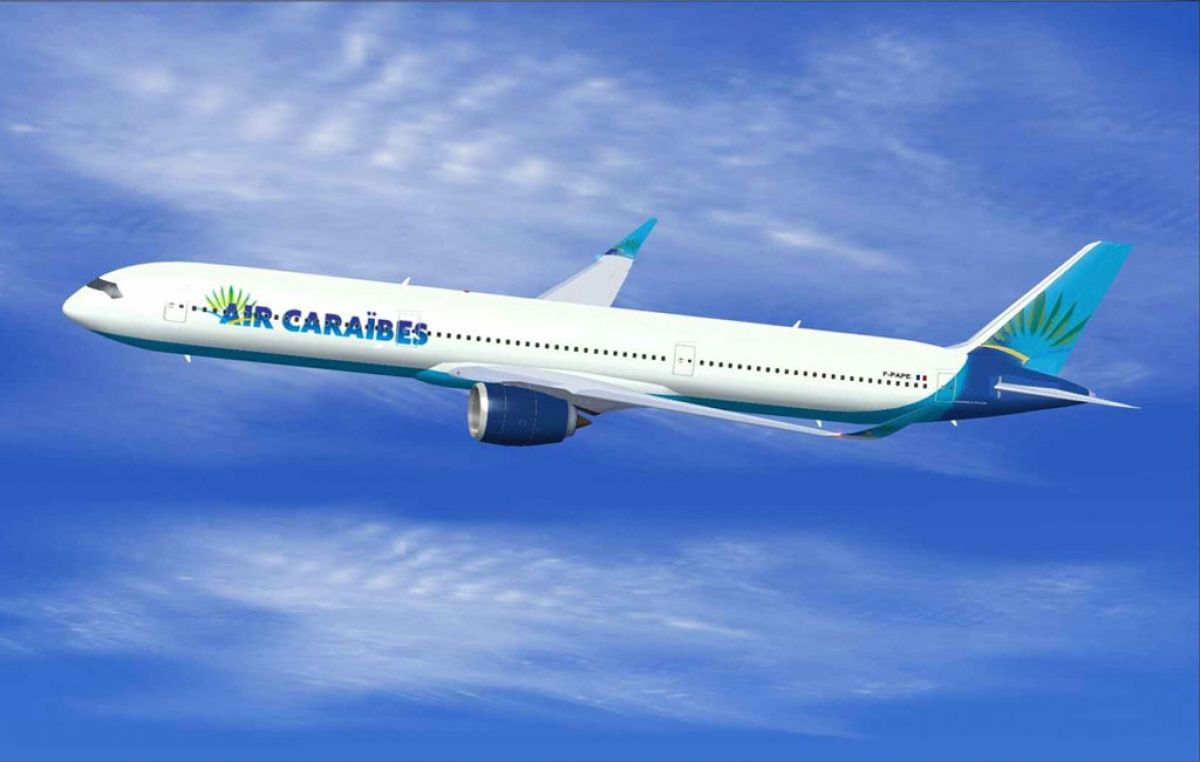 Air Caraïbes renforce Saint-Martin à compter du mois d'octobre
