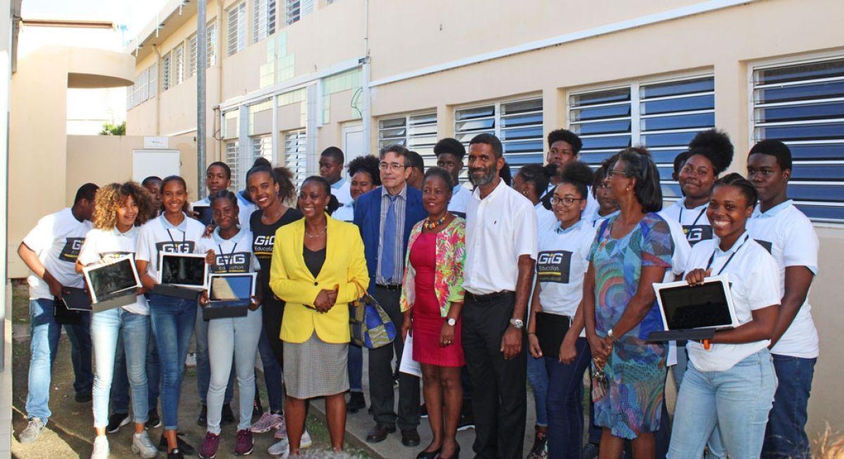Les établissements scolaires de Saint-Martin se numérisent