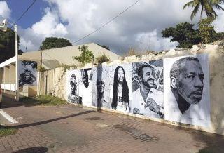 Les affiches seront exposées sur les murs de Marigot et d'autres quartiers et évolueront avec le temps