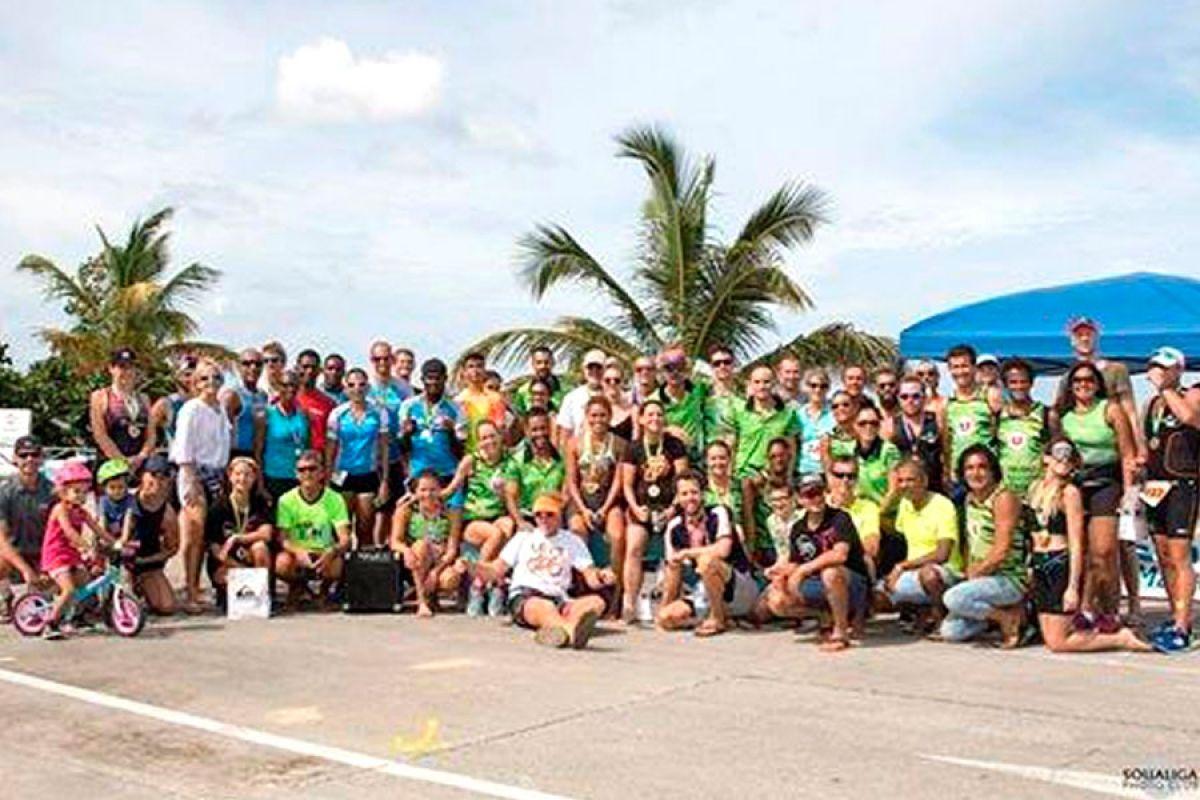 Triathlon : une première édition réussie