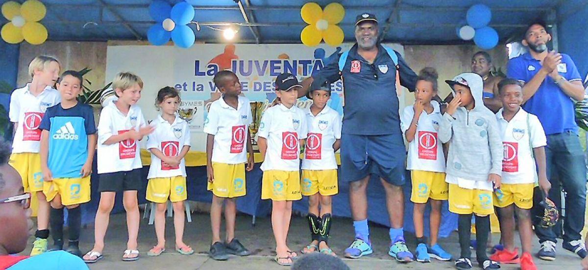 Les jeunes de United Stars ont joué en Guadeloupe