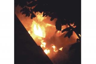 Le nouveau bus de l'association  « SOS Enfants des Îles du Nord »  incendié en pleine nuit
