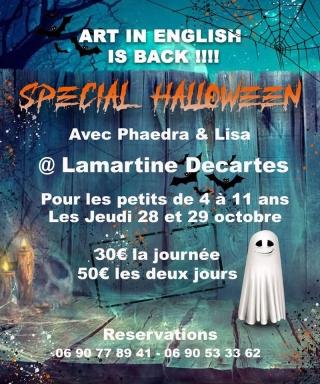Activités  «spécial enfants» Halloween