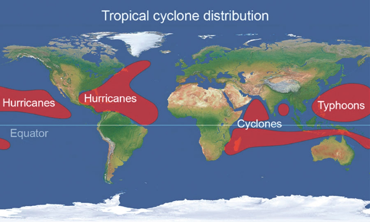 Saison cyclonique : premières tendances