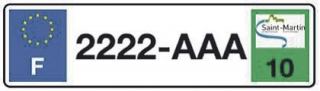 Appel à la mise en conformite des plaques d'immatriculation