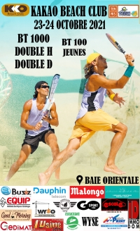 Beach Tennis : tournoi BT 1000