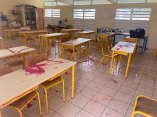 L'école Omer  Arrondell saccagée!