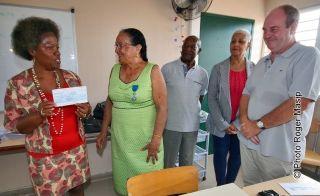 La section locale de l'Ordre National du Mérite participe au financement du voyage