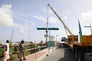 Pont de Sandy Ground : réouverture le 5 septembre !