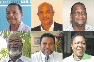 Les six candidats actuellement déclarés ont répondu sur le thème suivant : SECURITE