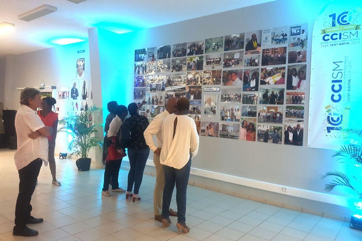 La CCISM créé un pont entre l'art et le monde économique