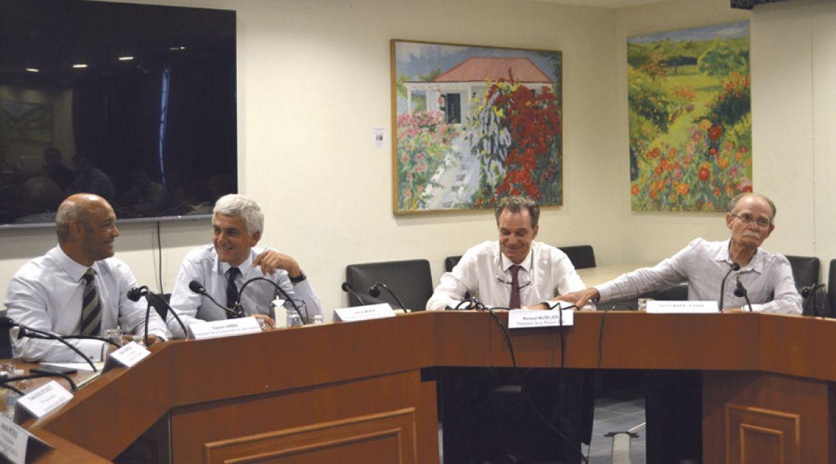 Une délégation des Présidents de région en visite