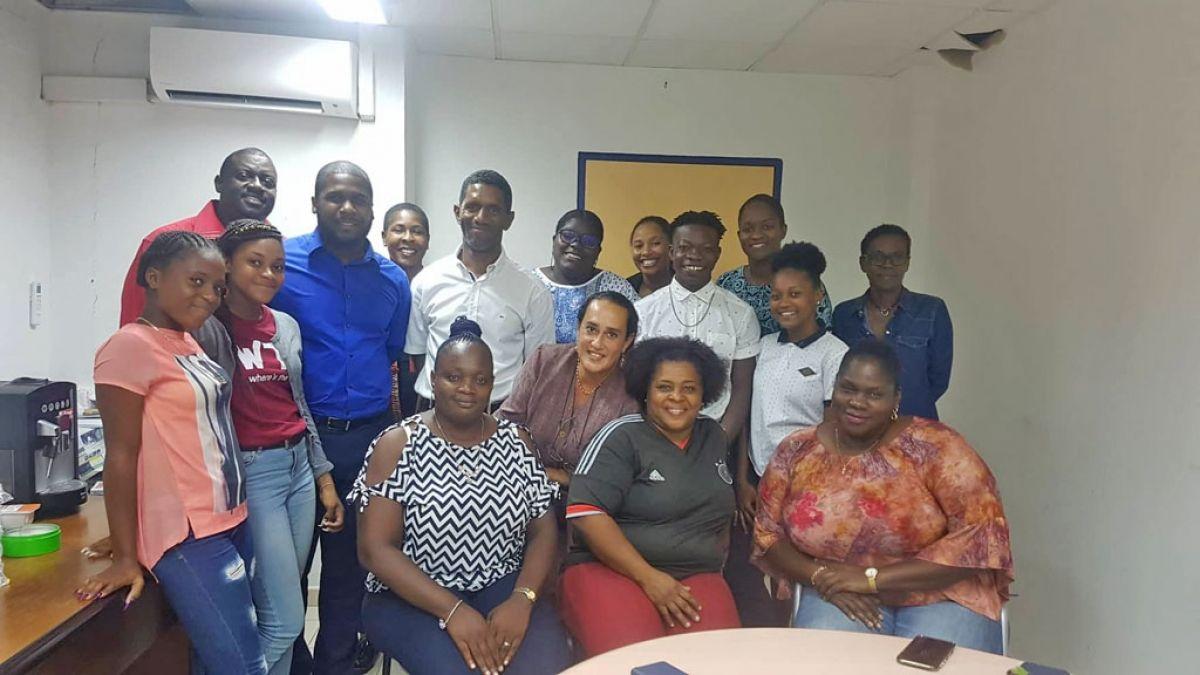 Le Ministre Junior Jonathan Hodge a fièrement représenté Saint-Martin aux Bahamas