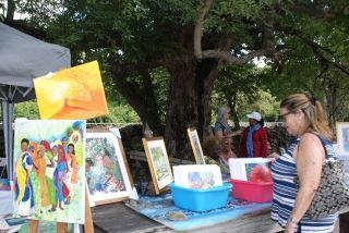 Dimanche 10 février, le Parc Emilio Wilson revêt les couleurs de « Art in the Park »