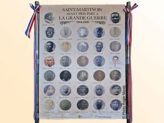 Une exposition pour rendre hommage aux Poilus de Saint-Martin