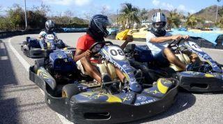 Championnat de karting : Go ! Go ! Go ! Les entreprises de Saint-Martin  en pôle position !