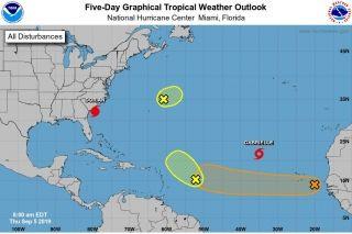 Météo cyclonique : un point sur les systèmes en évolution dans l'Atlantique