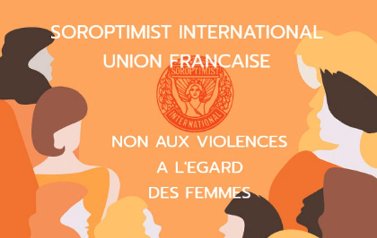 Violences à l'égard des femmes : les Soroptimist orangent le monde