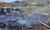 Incendie à Cul de Sac : environ 70 bêtes brulées vives