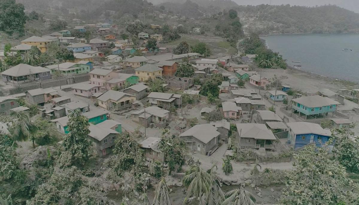 SAINT-VINCENT :  l'aide s'organise autour des populations sinistrées