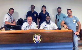 Rencontre entre les services de l'immigration de Sint-Maarten et Saint-Martin