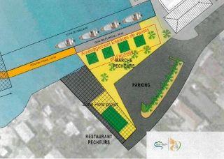 Un projet de point de débarquement des produits  de la mer sur la Marina Royale