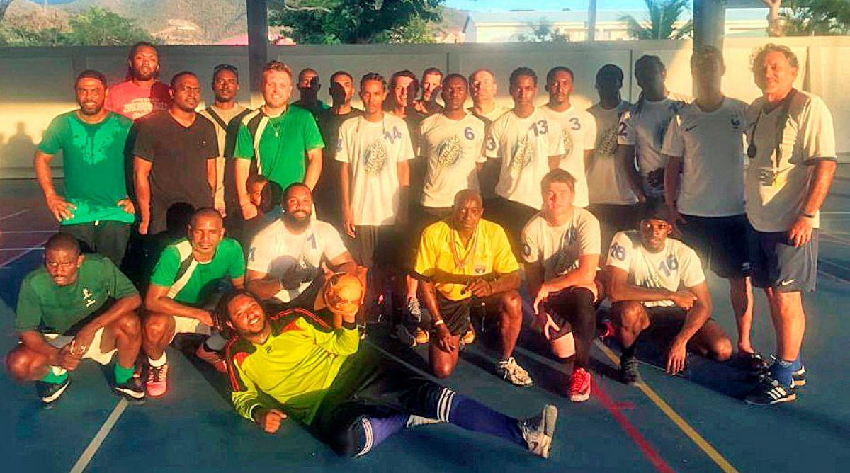 Premiers matches du tournoi Futsal Entreprise