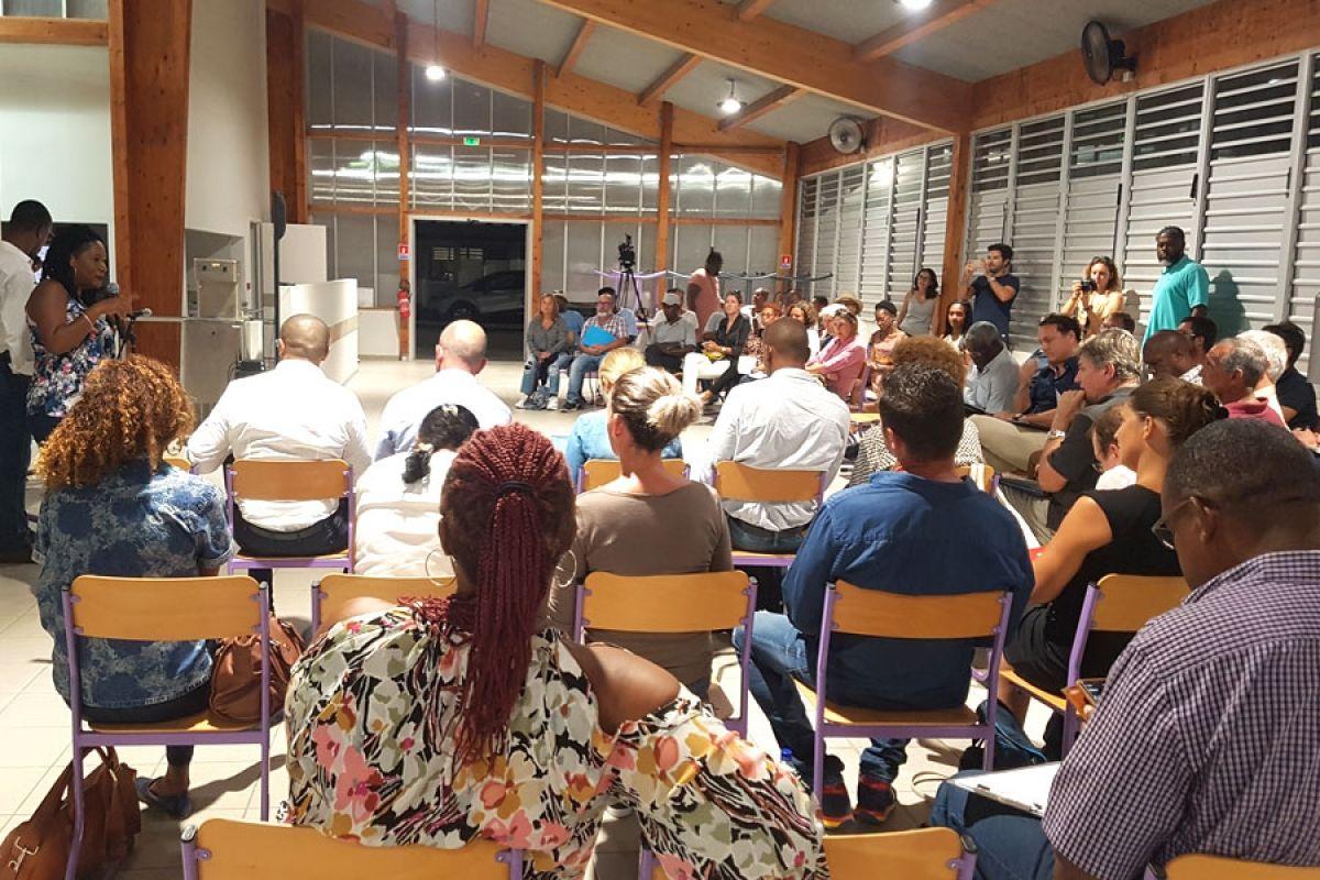 La première réunion du COTECH, tenue mardi dernier au Lycée professionnel de Concordia,  a réuni une soixantaine de personnes.