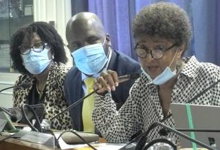 La conseillère territoriale Marie-Dominique Ramphort a exposé  le compte de gestion 2019 de la Collectivité.