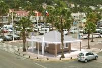 Construction d'un kiosque pour l'accueil des touristes