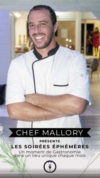 Nouvelle escale du restaurant éphémère de Chef Mallory