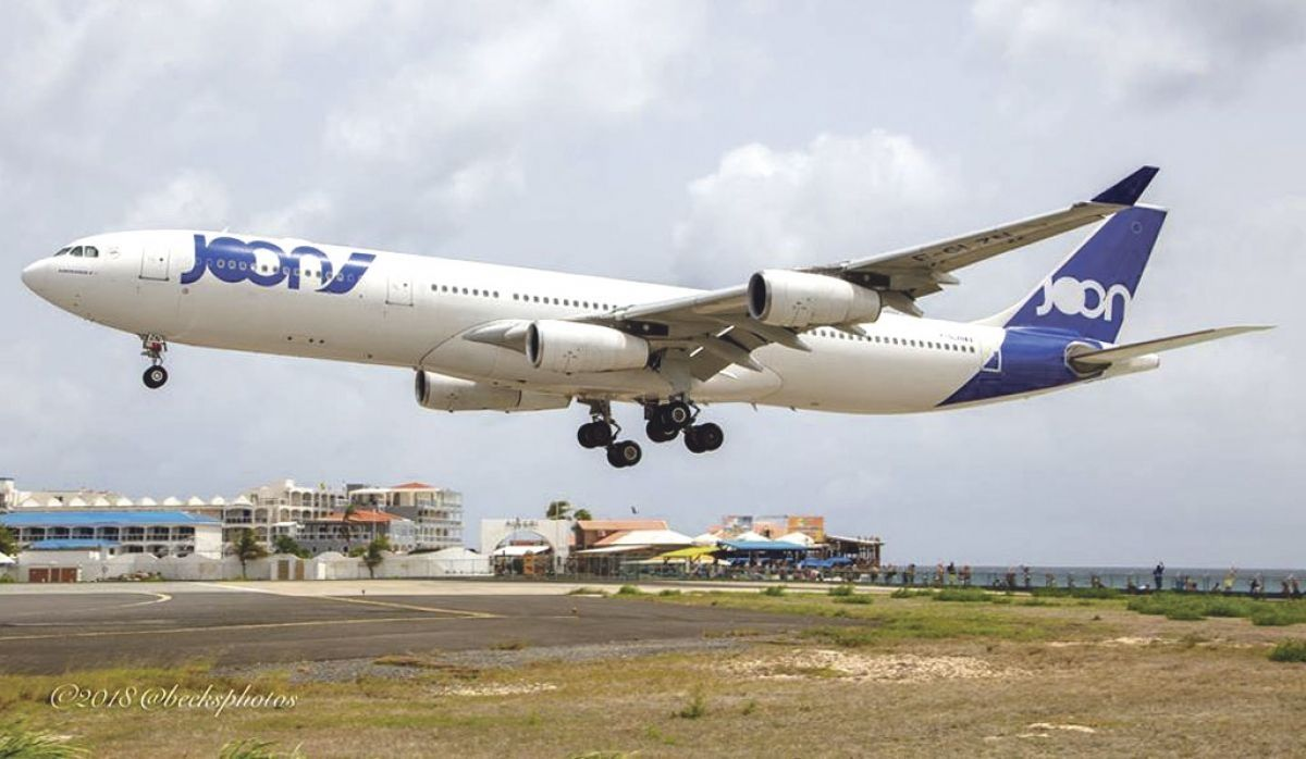 Air France : La destination Saint-Martin redevenue rentable ?