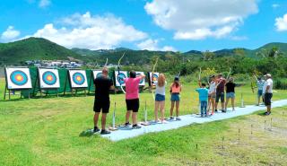 Tir à l'arc : Les Archers de Saint-Martin
